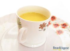 Turmeric Milk --  cures all sorts of ailments (good for skin, bones, joints, lungs, etc.)