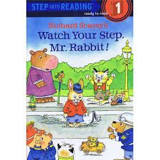 Watch Your Step, Mr. Rabbit!, Scarry, early reader, community helpers, community
