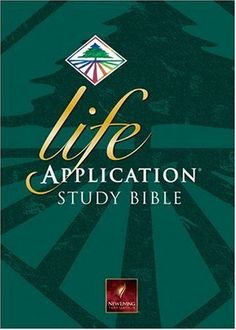 Life Application Study Bible NLT, Large Print (New Living Translation) Hardcover