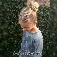 """Ladderbraid with a messy knot. Inspired by @nikehuiberts only hers is so much prettier"" Photo taken by @girlzhaircreations on Instagram, pinned via the InstaPin iOS App! http://www.instapinapp.com (11/05/2015)"
