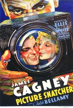 "Picture Snatcher - Lloyd Bacon 1933 - DVD05033 -- ""James Cagney plays a con fresh from Sing Sing and putting his criminal skills to work as a sneaky, snaky tabloid photographer."""