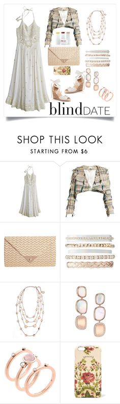 """""""Blind Date !!"""" by constanceee64 ❤ liked on Polyvore featuring Calypso St. Barth, Carl Kapp, JNB, Charlotte Russe, Karine Sultan, Roberto Coin, Michael Kors and Gucci"""