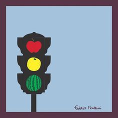 Traffic Lights Fruits #drawing #draw #illustration #picture #artist #art #artwork #design #graphicdesign #sketchbook #creative #pencil #igers #swag #fun #instaart #instamood #instamood #like #love #beauty #pretty #funny #beautiful #food #fruit #color