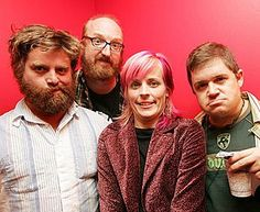 from left: Zach Galifinakis, Brian Posehn, Maria Bamford, Patton Oswalt