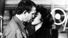 Whitney with Kevin Costner in The Bodyguard