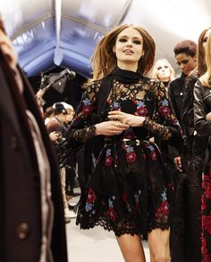 """""""Why wait when you can have  the newly debuted collection first. Pre-Order the ELIE SAAB Ready-to-Wear Autumn Winter 2016-17 collection exclusively on…"""""""
