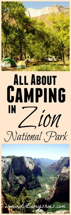 Learn all about camping in Zion National Park with this handy guide!