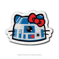 Two of my favorite things...R2-D2 & Hello Kitty on Etsy