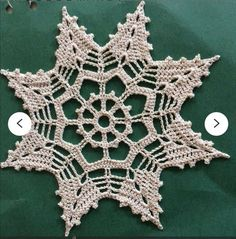 Crochet Quilt Pattern, Crochet Snowflake Pattern, Christmas Crochet Patterns, Crochet Snowflakes, Christmas Snowflakes, Crochet Motif, Hand Crochet, Crochet Hooks, Christmas Ornaments