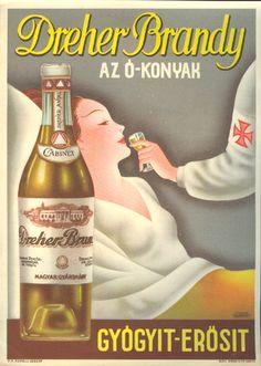 Now is forever Vintage Ephemera, Vintage Ads, Vintage Posters, Old Advertisements, Advertising, Budapest, Poster Ads, Orange Background, Ad Art