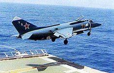 Continue reading «AERONAVES FAMOSAS: Yakovlev Yak-38 'Forger'»