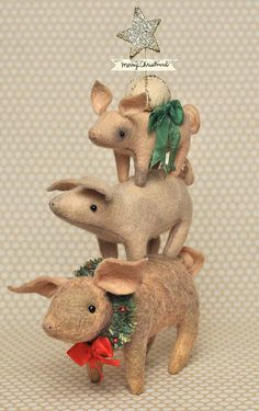 Jennifer Murphy's pigs......I love these piggies !