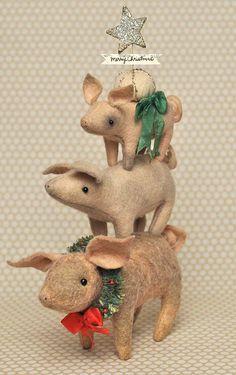 Jennifer Murphy's pigs......I love these piggies !