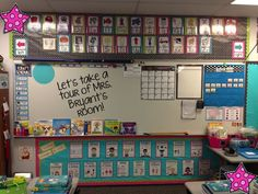 A Traveled Teacher: Classroom Reveal - great 2nd grade classroom organization!: