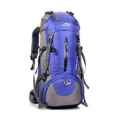 50L Waterproof Sport Travel, Hiking, Cammping Backpack