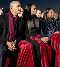 President Obama's Daughter SASHA Is Growing Into A REAL BEAUTY . . . Did You See Her At The TREE Lighting Last Night????
