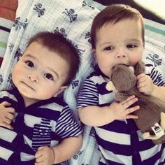 Twin baby boys ♡