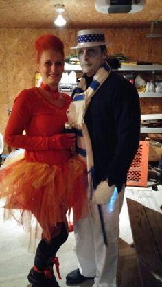 snow miser and heat miser halloween costume