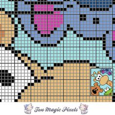 Four Friends C2C Crochet Graph | Craftsy