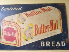 Old Butter-Nut Bread Sign