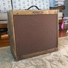 Vintage 1956 Fender 5e9 Tremolux Tweed amplifier - Tons Of Mojo! | Reverb
