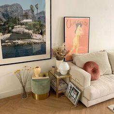 Living Room Decor, Living Spaces, Bedroom Decor, Cozy Living Rooms, Interiores Art Deco, Dream Apartment, Apartment Interior, Apartment Living, Aesthetic Rooms