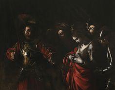 Michelangelo Merisi da Caravaggio (Milan, 1571 – Porto Ercole, 1610), The Martydom of Saint Ursula, 1610. Oil on canvas, 201 x 271 cm. Colección Intesa Sanpaolo. Gallerie d'Italia - Palazzo Zevallos Stigliano, Nápoles. © Gallerie d'Italia