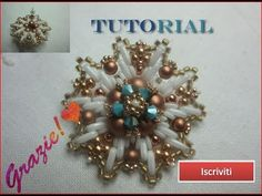 Tutorial orecchini Edelweiss - YouTube