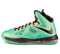 "Nike LeBron X ""Jade"""