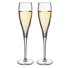 Luigi Bormioli - Vinoteque Perlage Champagne Flute Set 2pce | Peter's of Kensington