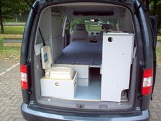 Nissan Serena Camper Conversion >> C-tech: Campingvan - Minicamper - VW Caddy - Camper, Camping | Caddy Camper | Pinterest | Blog ...