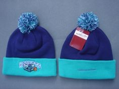 Orleans Hornets Bonnet Mitchell And Ness Marine : Casquette Pas Cher