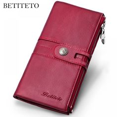 """Betiteto Genuine Leather Women Wallet  Price: 29.00 & FREE Shipping """"Fashion is Self-Expression: It's not the brand that makes you, but its how you brand yourself in whatever you wear"""" by Cadilyn Trends. We share our business motto with you. Visit our store and check out our collections. #streetfashion 98, Wallets For Women, Luggage Bags, Brand You, Coin Purse, Fashion Accessories, Vintage, Female, Leather"""