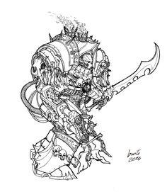 Hivegorger Murciel - Revisited by Greyall on deviantART