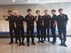 BTS in SWAT Uniforms
