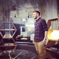 Inspiring Brands at Design Junction 2014 - Casafina Peter Cathersides