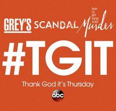 Tonight is the night! Greys Anatomy, Scandal & How to Get Away With Murder is back tonight! #abc #shondarhimes #greyasanatomy #scandal #htgawm #popstyletv
