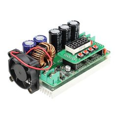 1PC New Arrival 600W Digital Control DC-DC Adjustable Step Up Module Constant Voltage Current Solar Charging Module Board