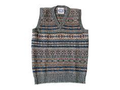 jamieson's fair-isle vest, via rusk