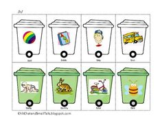 Free! Pick up the Trash! An Articulation Activity for /p/, /b/ and /m/ 6 pages
