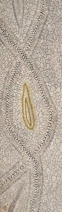 Aboriginal Artwork by Kurun Warun / Dry Riverbed (3A) is the name of the painting - Click here to view now
