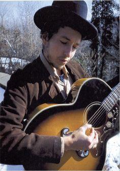 Bob Dylan by Elliot Landy - 1968