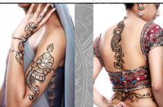 Mehndi Back Tattoo Designs : Henna tattoo designs and meanings mehndi on back