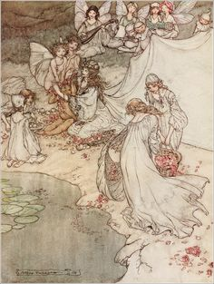 A midsummer-night's dream - Act II, Scene I: She never had so sweet a changeling