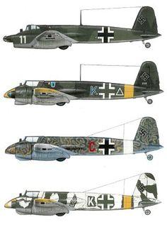 Henschel HS 129(varie versioni)