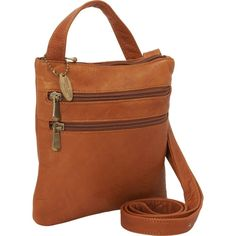 David King Leather 3 Zip Cross Body Bag * You can find out more details at the link of the image. (This is an Amazon Affiliate link and I receive a commission for the sales)
