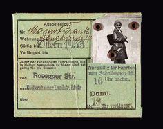Margot's Bus Pass - Anne Frank Guide