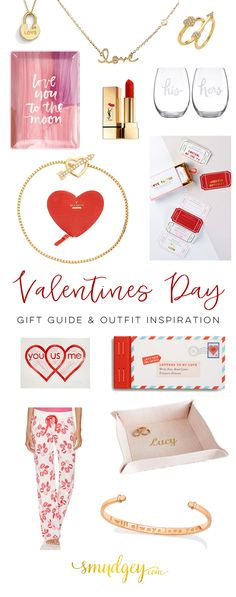 Valentine's Day Gift Guide & Outfit Inspiration for Her & Him