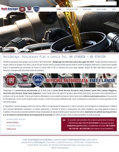 Arte e Informatica ha realizzato il sito web relativo all'assistenza Fiat e Lancia di Roll Garage: http://www.fiat.rollgarage.it/