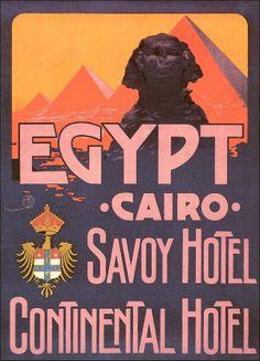 Vintage Travel Art